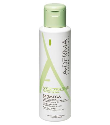 A-DERMA Exomega huile 200 ml - Sprchový čistící olej