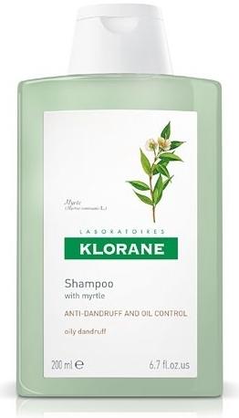 Klorane Šampon z myrty na mastné lupy 200 ml