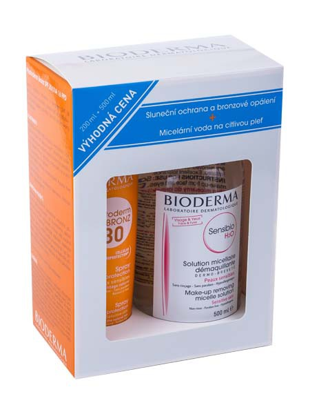 BIODERMA Photoderm Bronz SPF 30 plus Sensibio H2O 500 ml