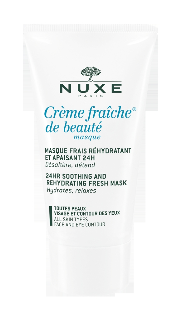 NUXE Creme Fraîche de Beauté zklidňující a hydratační maska 50 ml