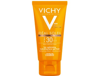 VICHY IDEAL SOLEIL BRONZ Gel-fluid na obličej SPF 30 50 ml