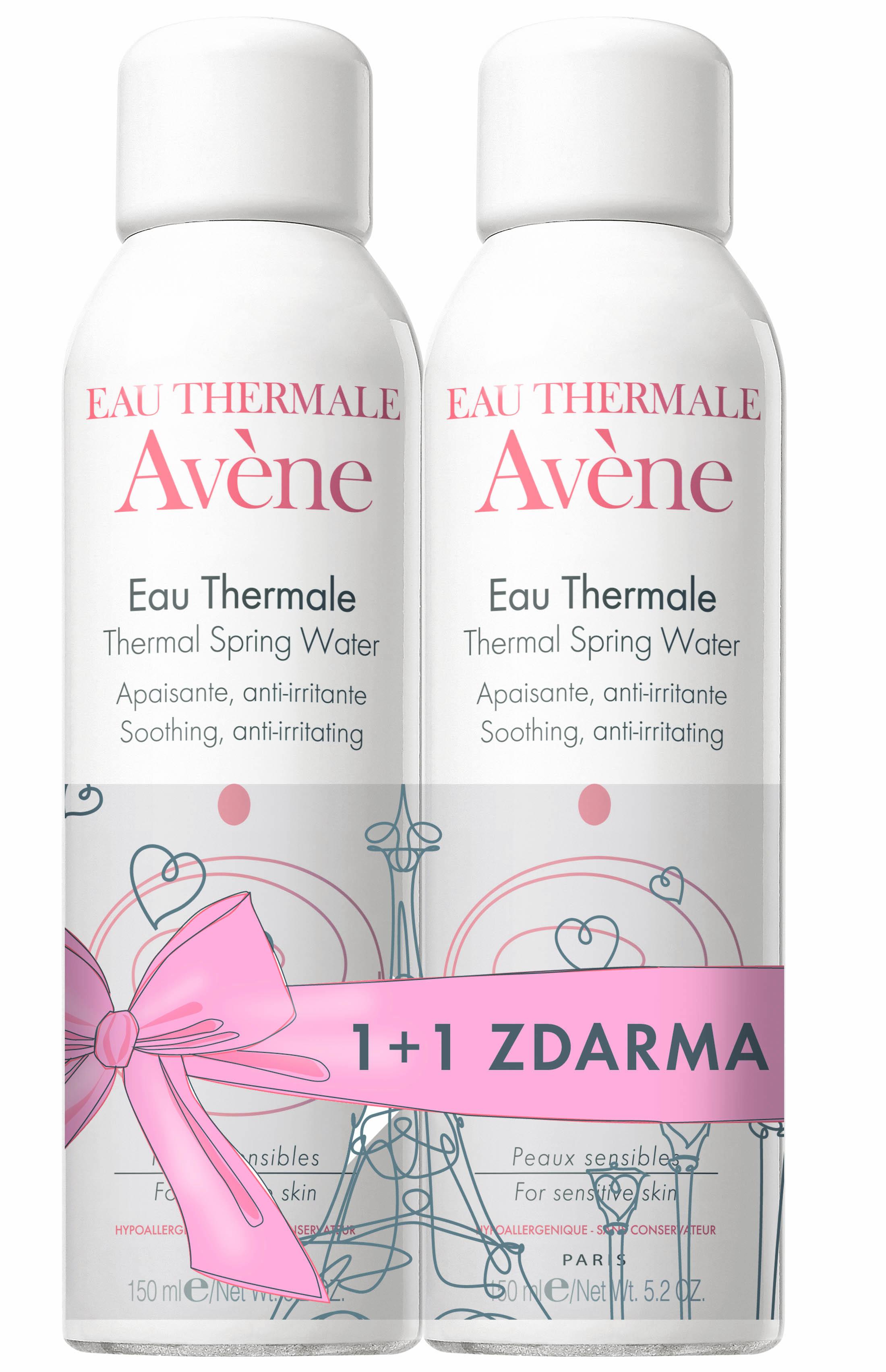 AVENE DUO Termální voda 150 ml plus 150 ml