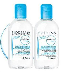 BIODERMA Hydrabio H2O 250 ml 1 plus 1 ZDARMA