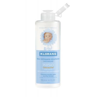 KLORANE BEBE Čisticí micelární voda Physiocalenduline 500 ml