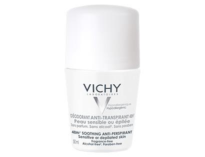 Vichy Deodorant 48h - roll-on pro citlivou nebo depilovanou pokožku 50 ML