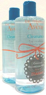 AVENE Cleanance Micelární voda 1 plus 1 ZDARMA