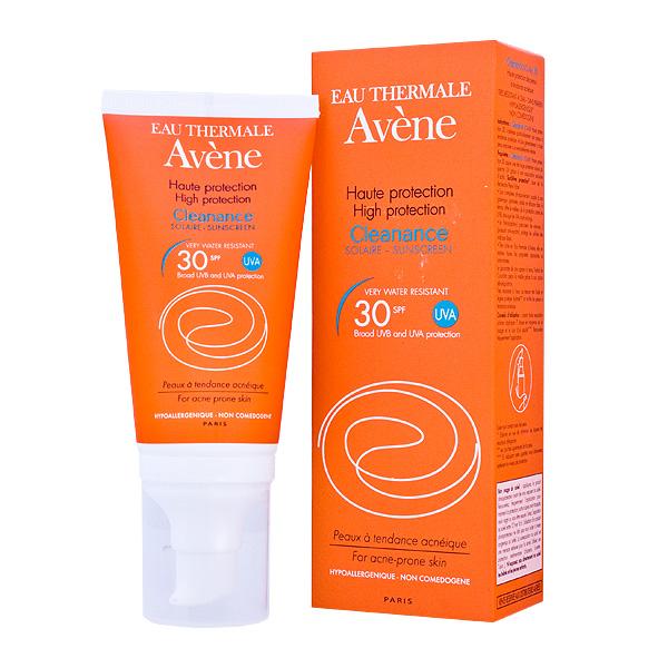 AVENE Sun Cleanance emulze SPF 30 - aknózní pleť 50 ml