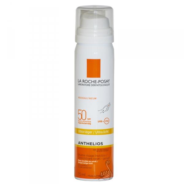 La Roche-Posay Anthelios SPF 50 Sprej na obličej UTRALEHKÝ 75 ml