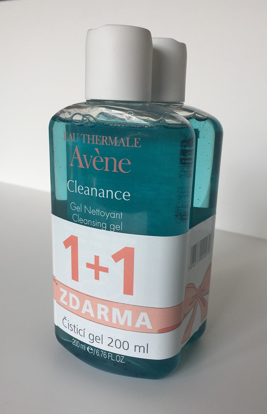 AVENE Promo Cleanance gel 1 plus 1