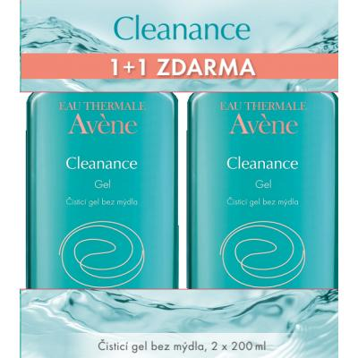 AVENE Promo Cleanance DUO gel 1 plus 1