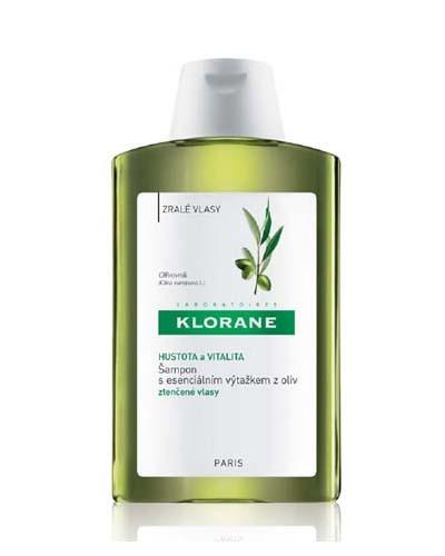 KLORANE Šampon s esenciálním výtažkem z oliv 400ml