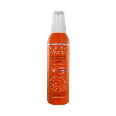 AVENE Sun opalovací sprej 50 plus pro děti - Spray haute protection 200 ml