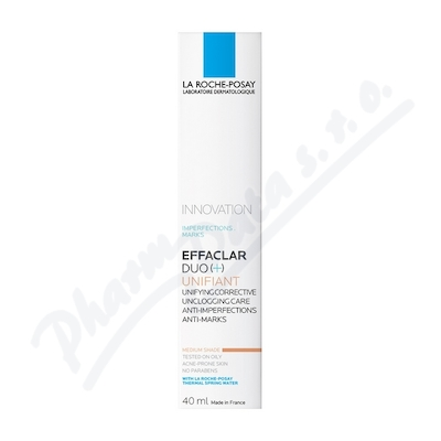LA ROCHE-POSAY Effaclar DUO plus tónovaný medium 40ml