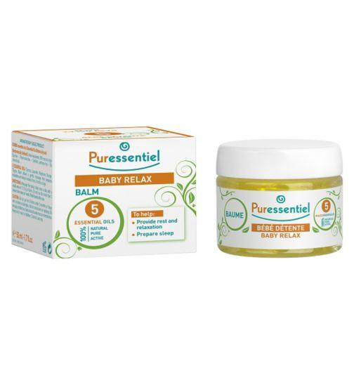 PURESSENTIEL Dětský balzám pro uvolnění a spánek 5 esenciálních olejů 50 ml