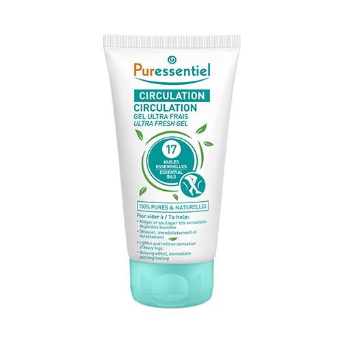 PURESSENTIEL Svěží gel na unavené a oteklé nohy 17 esenciálních olejů 125 ml