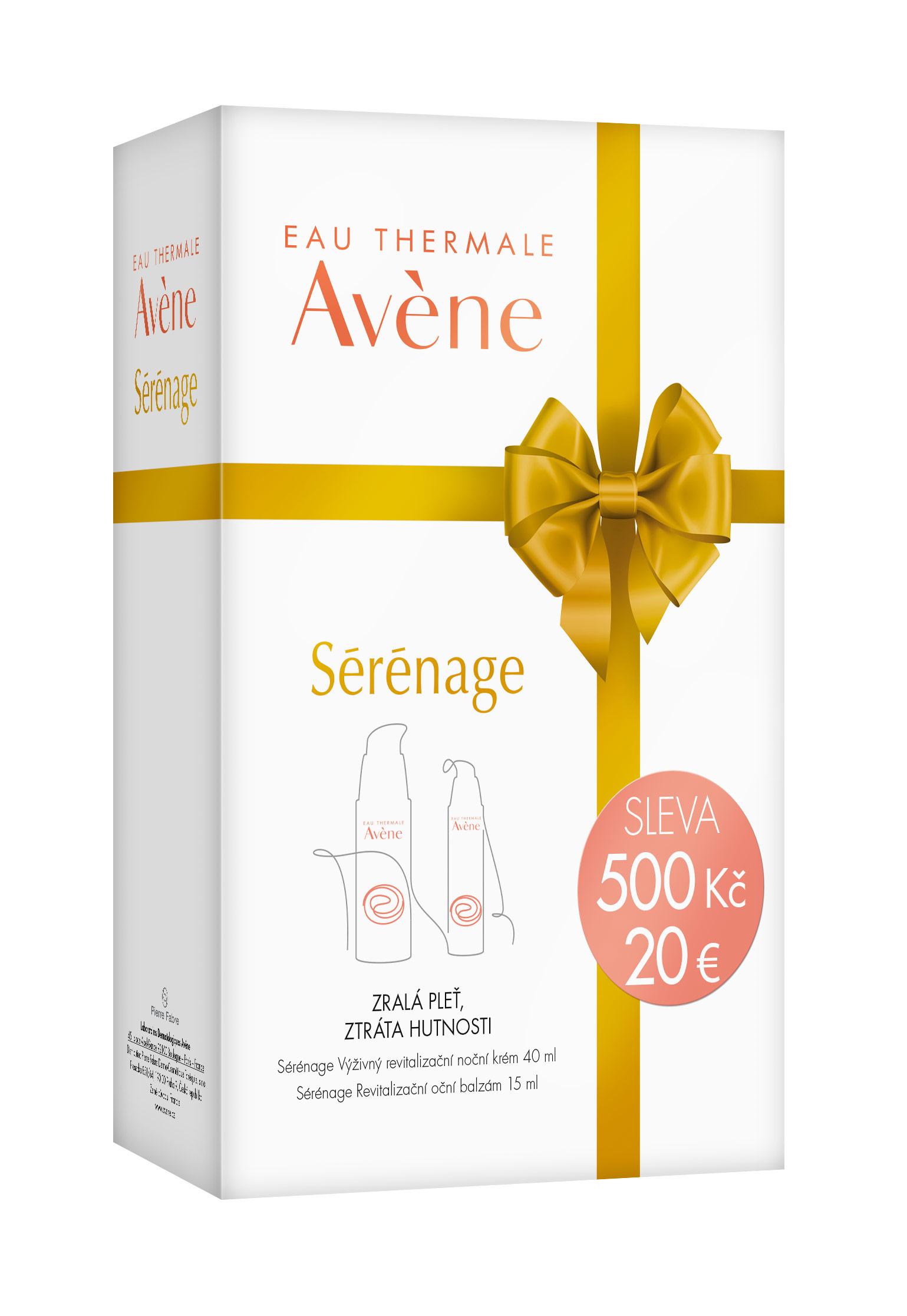 AVENE Serenage balíček Vánoce 2016