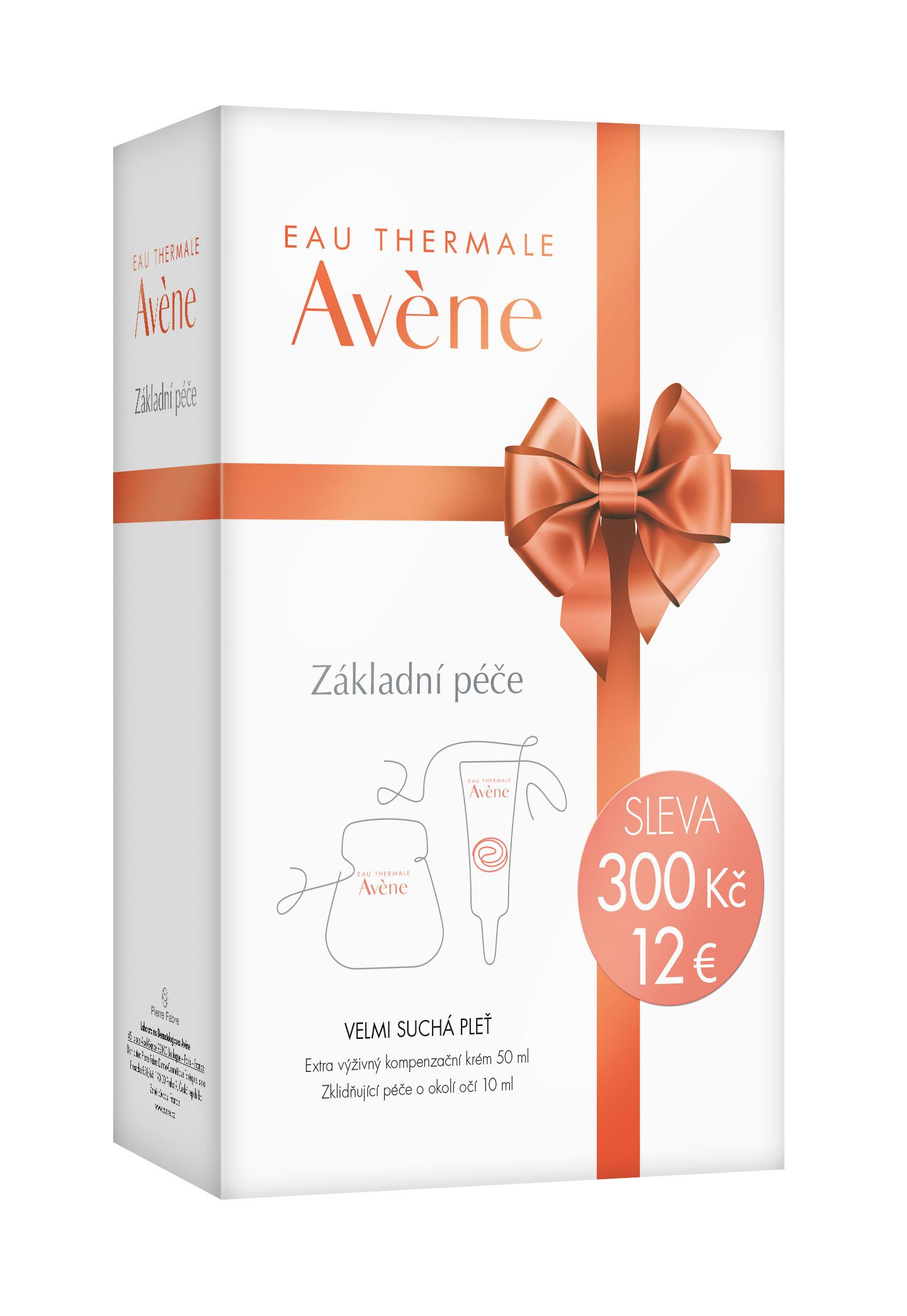 AVENE Creme pro velmi suchou pleť balíček Vánoce 2016