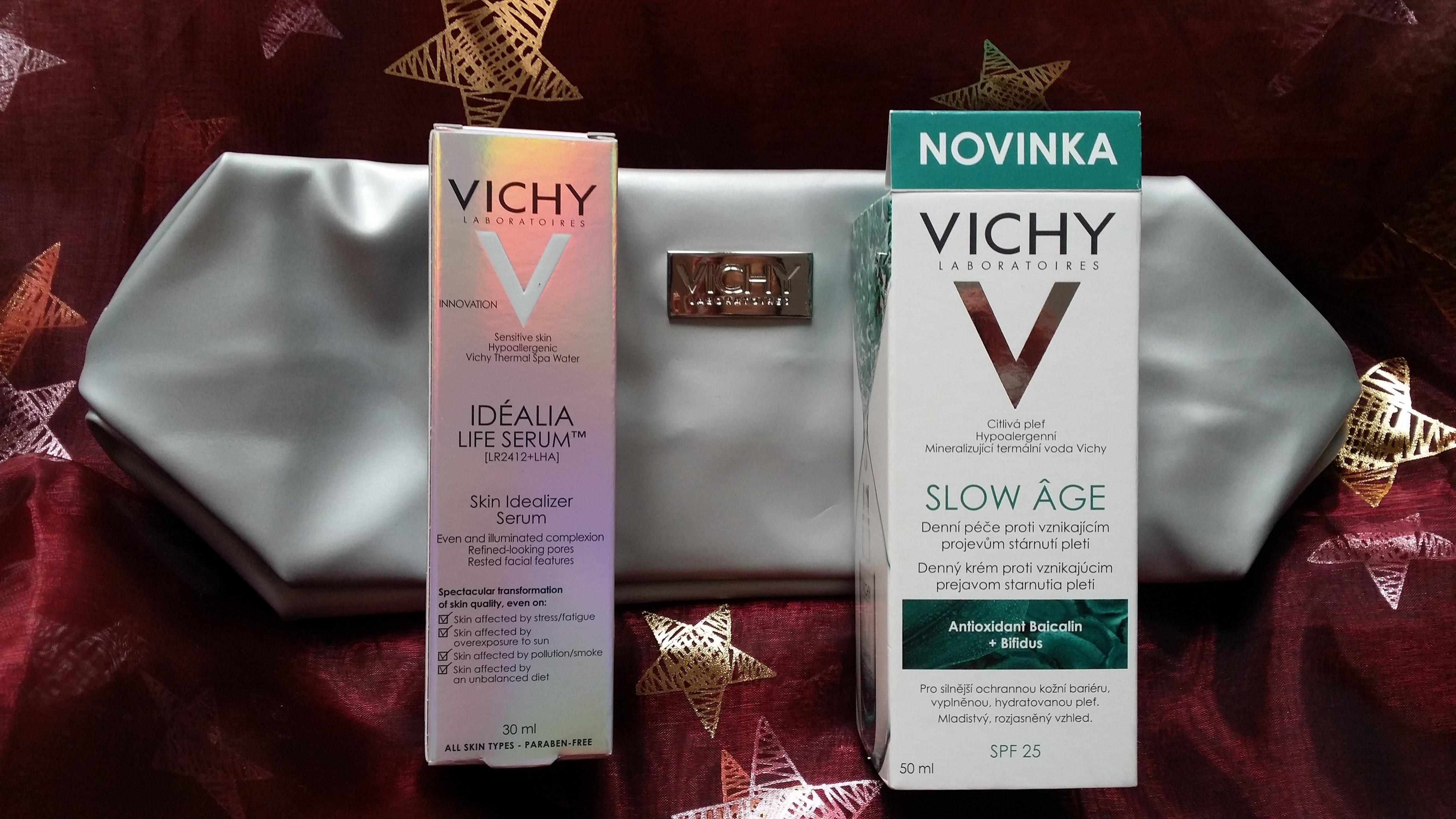 VICHY Vánoce 1 - Idealia serum plus Slow Age