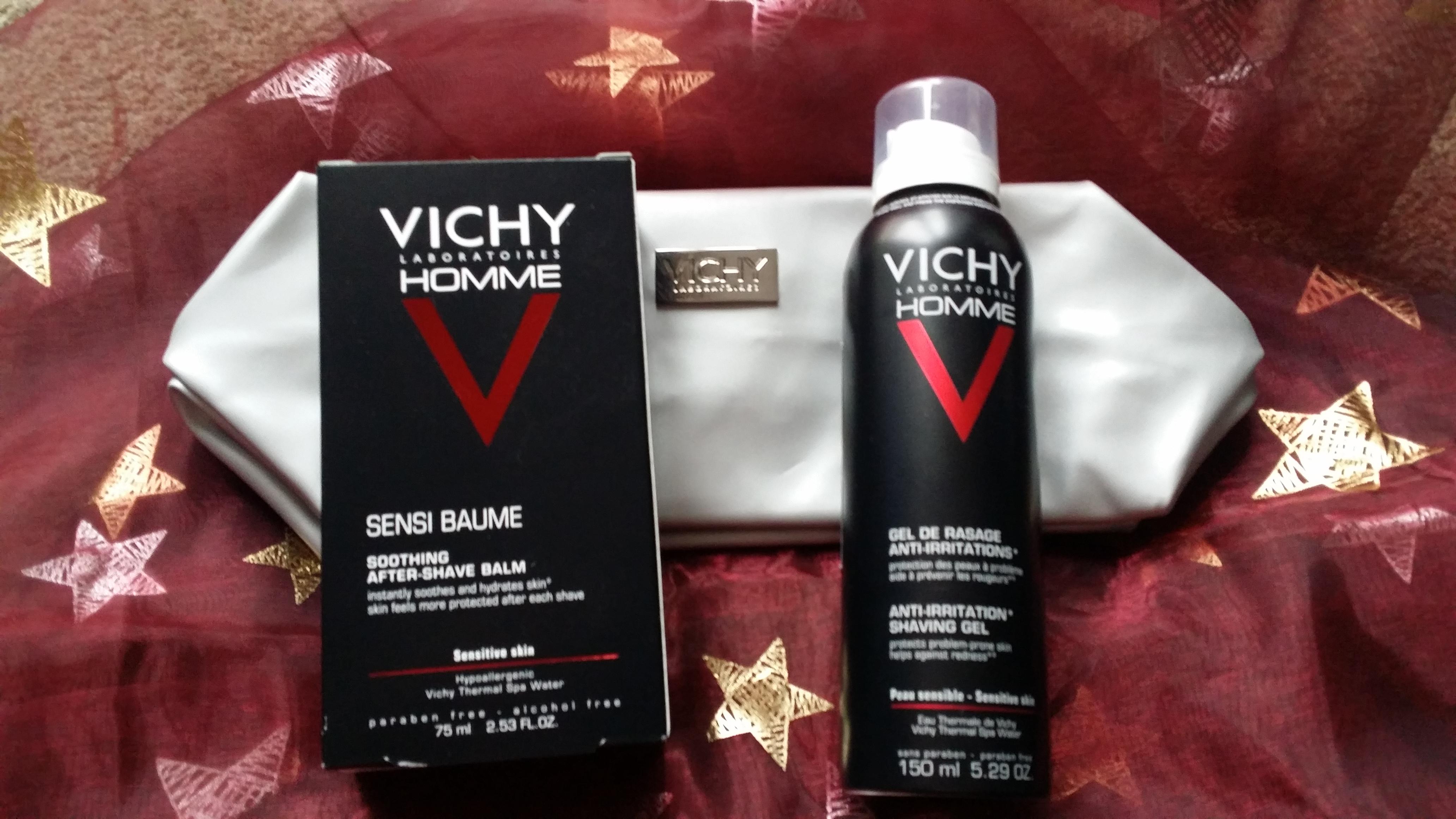 VICHY Vánoce 12 - Pánský set na holení
