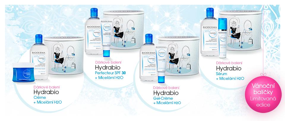 BIODERMA Vánoce Hydrabio Gel-creme plus Hydrabio H2O 500 ml