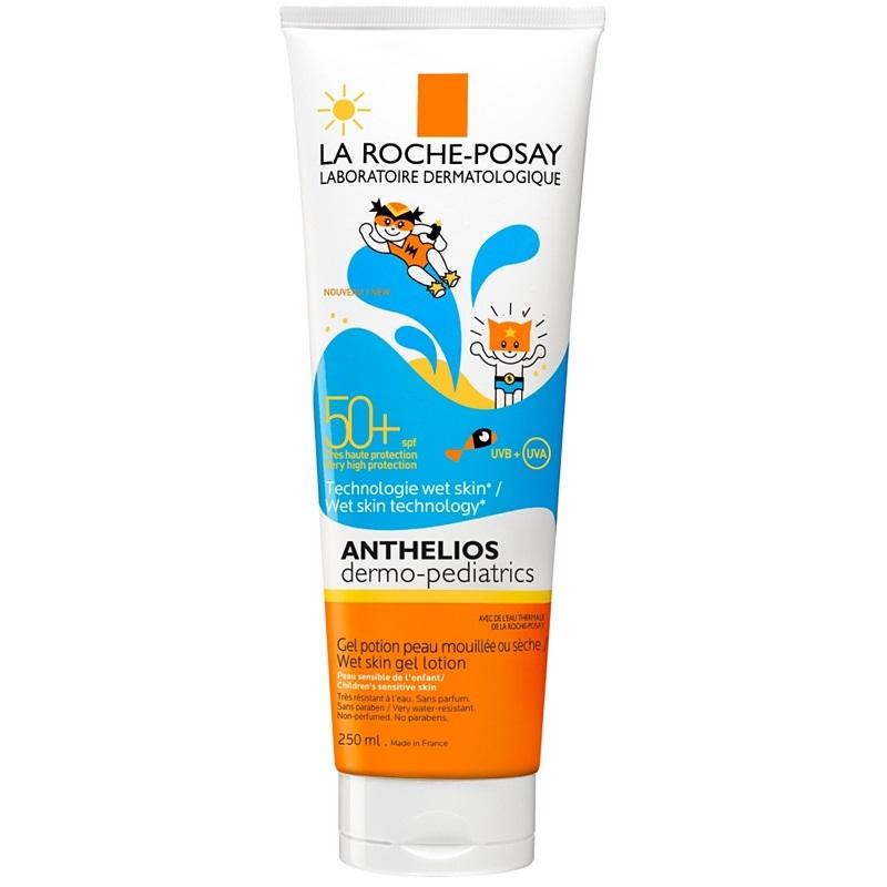 La Roche-Posay Anthelios Dermo-Pediatrics Gelové mléko na mokrou i osušenou pokožku SPF50 plus