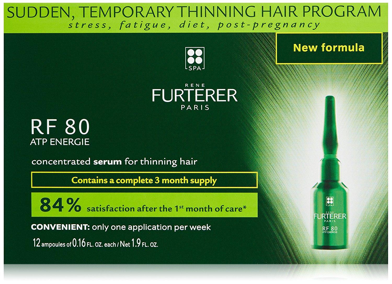 Rene Furterer RF 80 ATP ENERGIE - ampule pro reakční vypadávání vlasů 12x5 ml