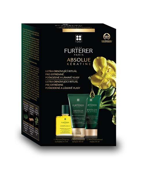 Rene Furterer ABSOLUE KÉRATINE - VYZKOUŠEJTE péče pro extrémně poškozené vlasy