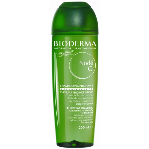 BIODERMA Nodé G šampón na mastné vlasy 400 ml