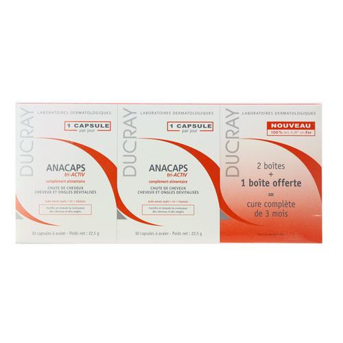 DUCRAY Anacaps Tri Activ 3x30 cps