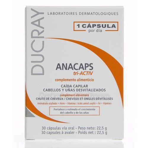 DUCRAY Anacaps Tri Activ 30 cps