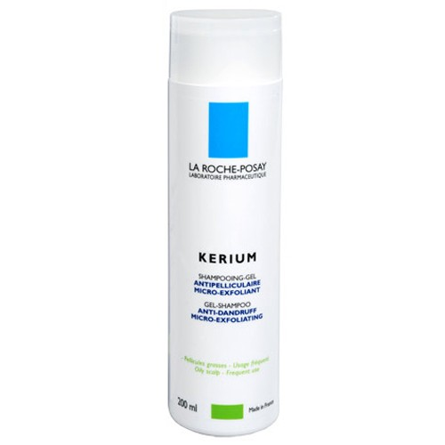 La Roche-Posay Kerium gel na mastné lupy 200 ml