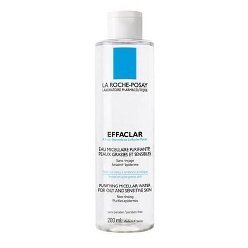 La Roche-Posay Effaclar Odličovací čistící voda 200 ml