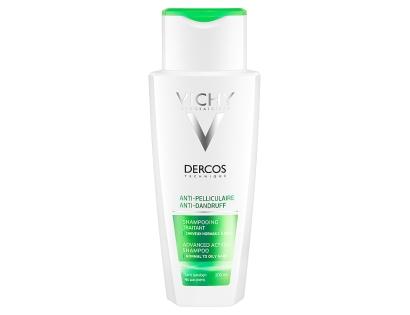Vichy Dercos šampon proti lupům na normální až mastné lupy 200 ml