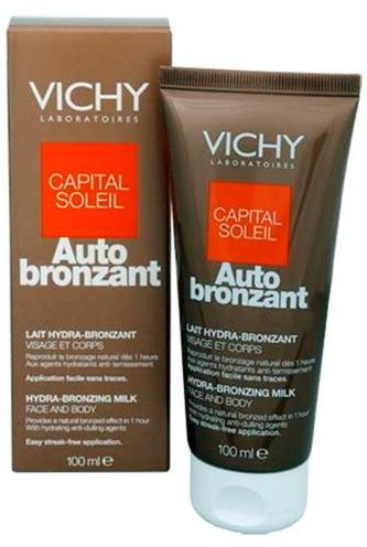 VICHY Samoopalovací krém Auto bronzant mléko 100 ml