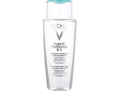 Vichy Purete Thermale Odličovací micelární voda 200 ml