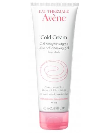 AVENE Cold Cream Zvláčňující mycí gel - Gel nettoyantgel Surgras 200ml