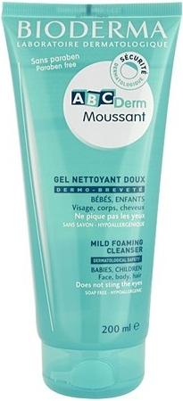 BIODERMA ABCDerm Moussant 200 ml