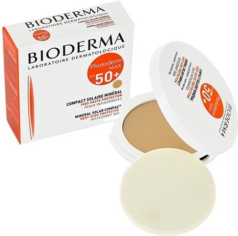 BIODERMA Photoderm Max kompaktní make-up SPF50 plus Tmavý 10g