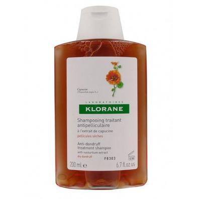 KLORANE šampon s výtažkem z řeřichy 200 ml - Suché lupy