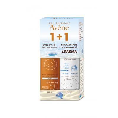 AVENE Promo SUN sprej SPF 50 plus mléko po opalování 200 ml