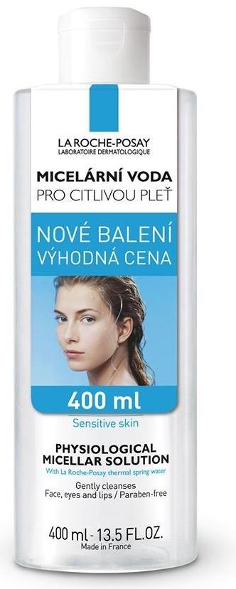 La Roche-Posay Fyziologická micelární voda 400 ml AKCE expirace 2018