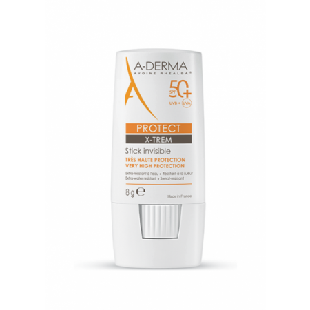 A-Derma Protect X-TREME Transparetní tyčinka SPF50+ 8g
