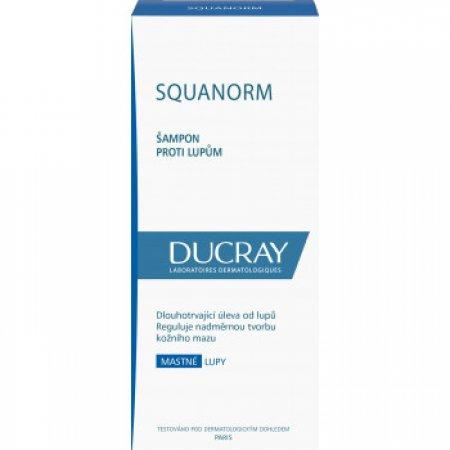 DUCRAY squanorm mastné lupy šampon 200 ml