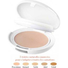 Avene Couvrance kompaktní make-up výživná textura 01 Porcelain SPF30 Compact Foundation Cream Rich Formula 9,5 g