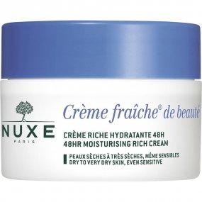 NUXE Creme Fraîche de Beauté zklidňující a hydratační krém pro suchou pleť 50 ml