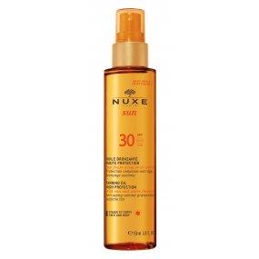 Nuxe Sun bronzující olej na opalování SPF 30 150 ml
