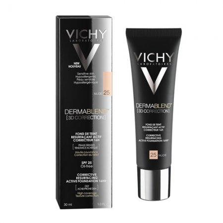 Vichy Dermablend 3D 25 korekční vyhlazující make-up SPF 25