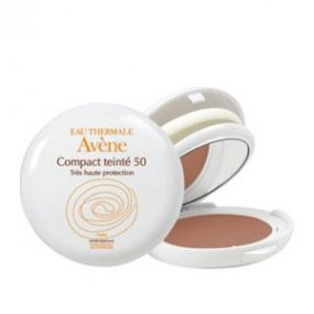 AVENE Tónovací kompaktní pudr s UV filtrem 50 - Haute Protection Compact DORE 10 g - Honey (tmavý)