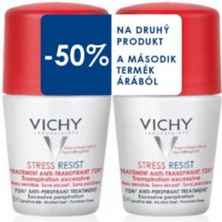 VICHY Deodorant DUO balení Stress resist roll-on