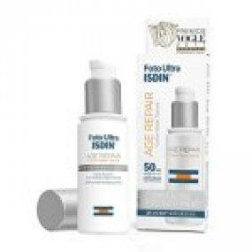 ISDIN Foto Ultra AGE REPAIR 50 SPF - 50 ml přípravek s trojitým účinkem proti stárnutí pleti